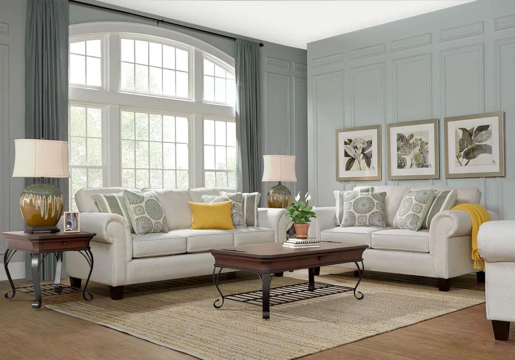 Pennington Sand Transitional Living Room Set