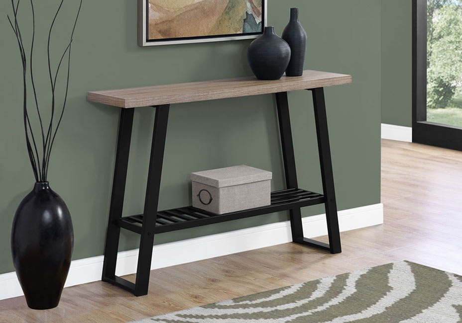 Tamarron Cappuccino Sofa Table