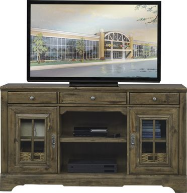 Mountain Bluff II Hickory 64 in. Console