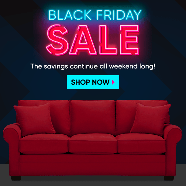 black friday sale. the savings continue all weekend long. shop now