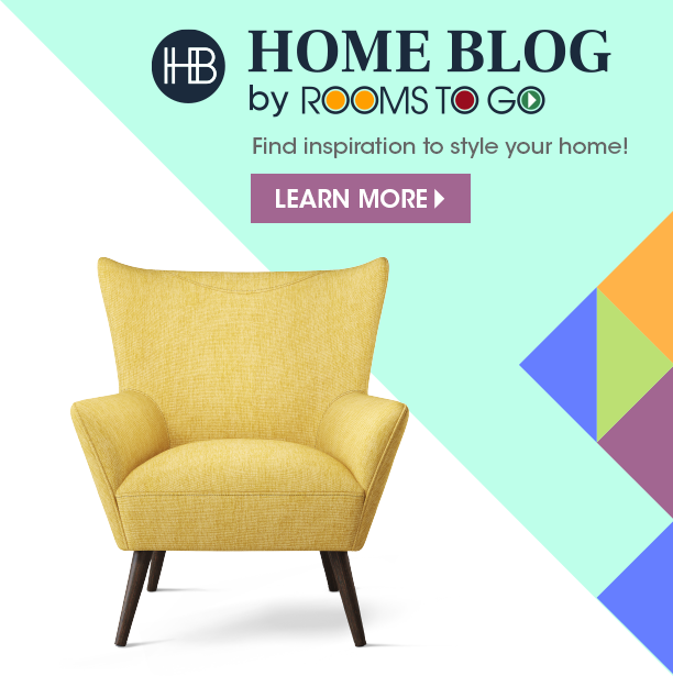 home blog by rooms to go. find inspiration to style your home. learn more