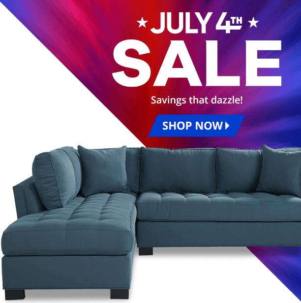 july 4th sale. savings that dazzle. shop now