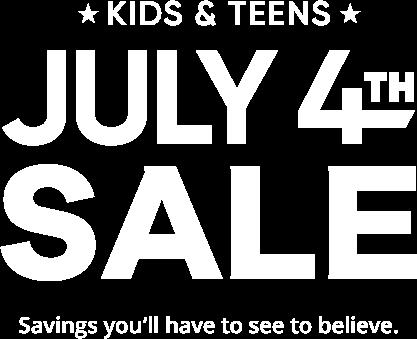 kids july 4th sale. awesome savings on kids furniture