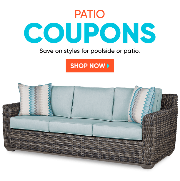 patio coupons. save on styles for poolside or patio. shop now