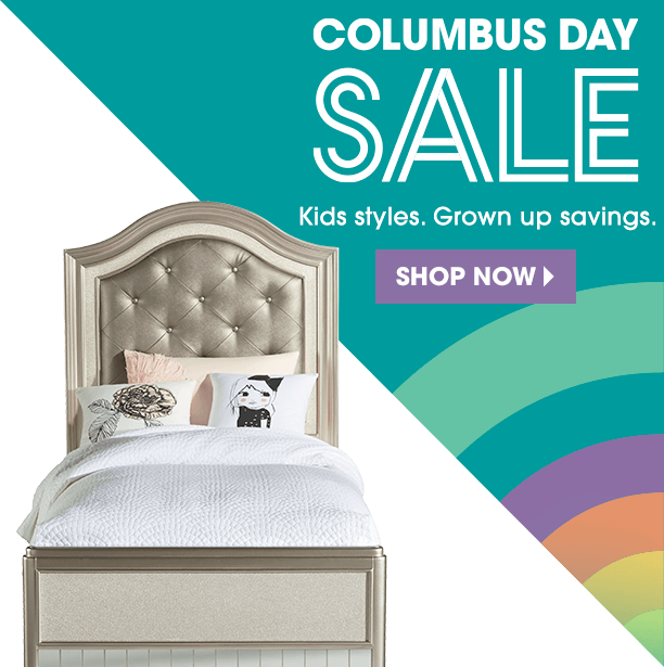 columbus day sale. great savings & fun styles. shop now