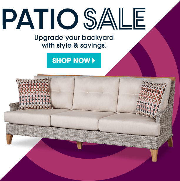 patio sale. extend the season with outdoor seating. shop now