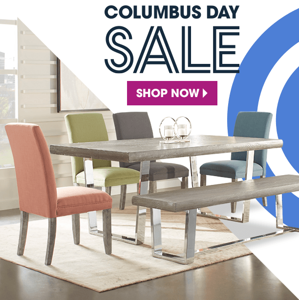 columbus day sale. savings and styles you'll love. shop now