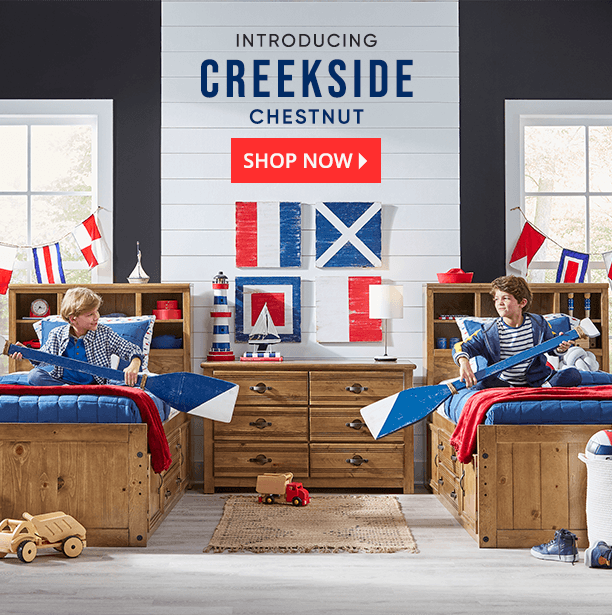 introducing creekside chestnut. shop now