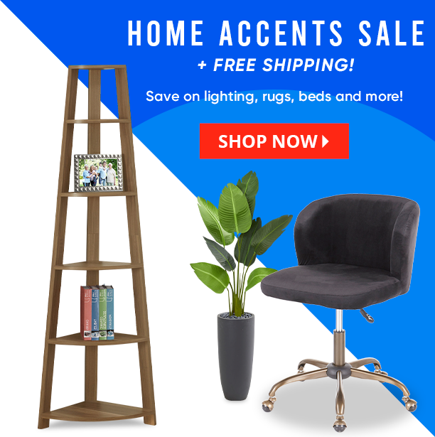 home accents sale + free shipping. save on lighting, rugs, beds and more. shop now
