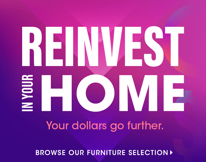 Hero : Reinvest in Your Home - DSP2 R1 - Furniture banner section