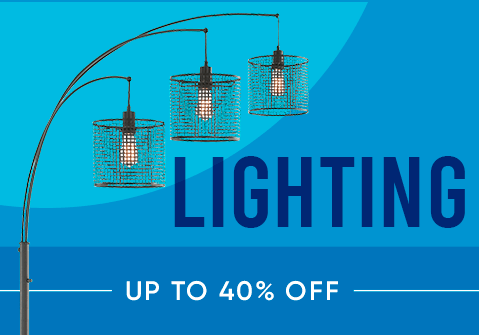 Lighting up to 40% off
