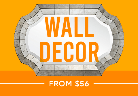 Wall decor from $56
