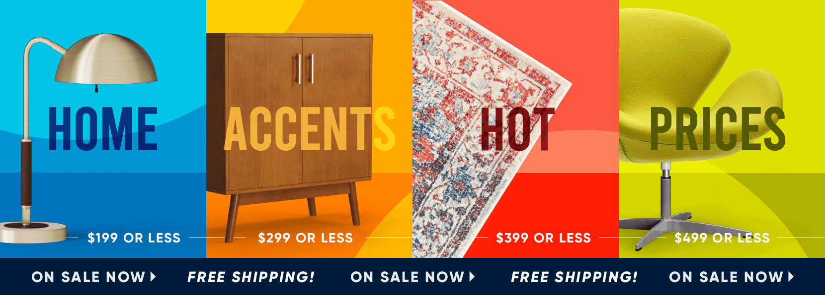 home accents hot prices. on sale now. free shipping