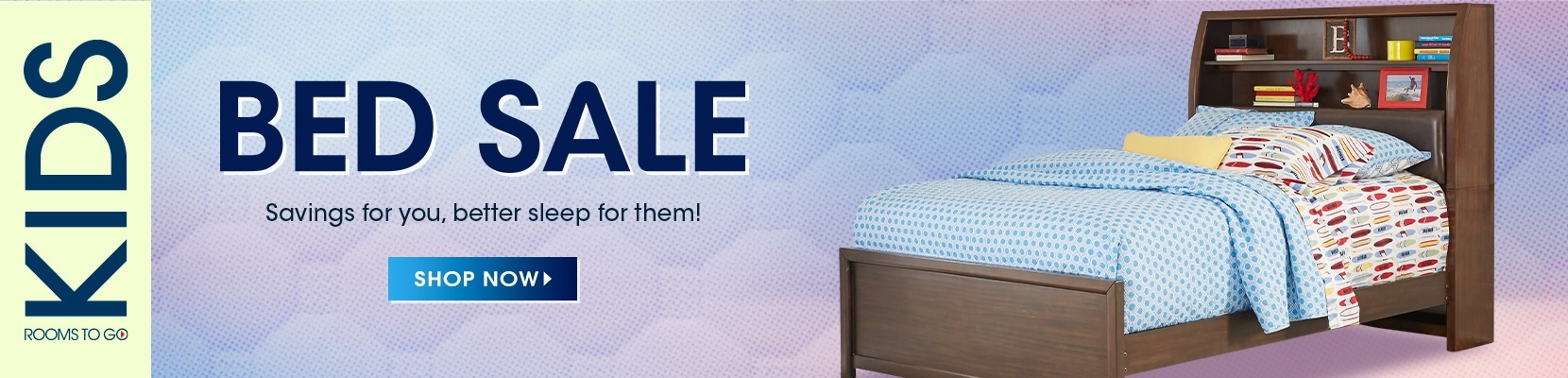 Rooms to go kids beds sale. savings for you, better sleep for them! shop now.