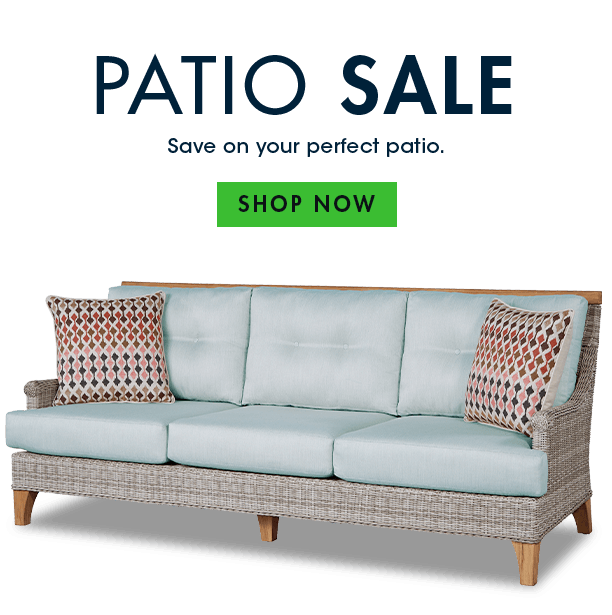 patio sale. save on your perfect patio. shop now