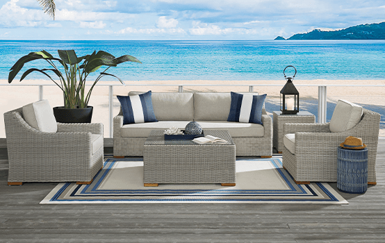 Outdoor Collections : Patmos - Seating banner section