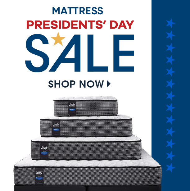 mattress presidents day sale. shop now