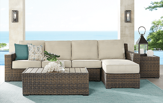 Outdoor Collections : Rialto - Seating banner section
