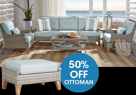 50% Off Ottoman