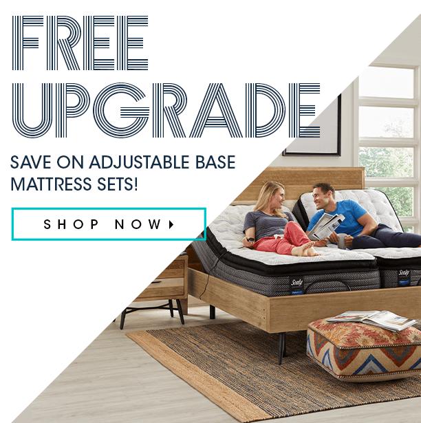 free upgrade. save on adjustable base mattress sets. shop now
