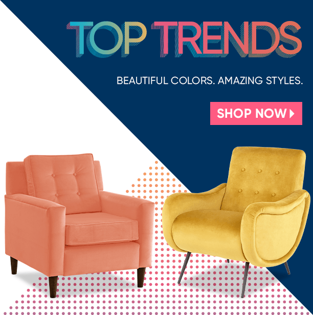 top trends. beautiful colors. amazing styles. shop now