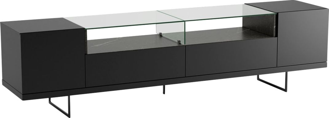 Aardvark Walk Black 85 in. Console