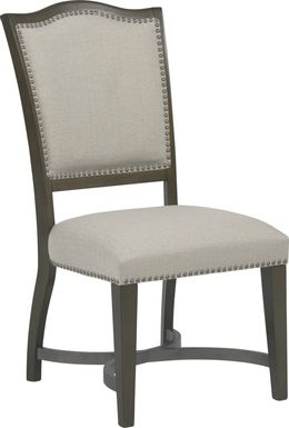 Abbey Court Beige Upholstered Back Side Chair