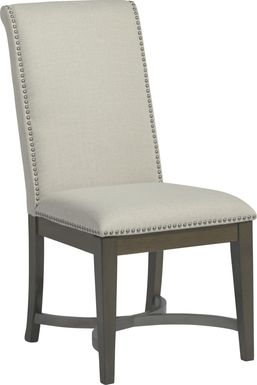 Abbey Court Beige Upholstered Side Chair