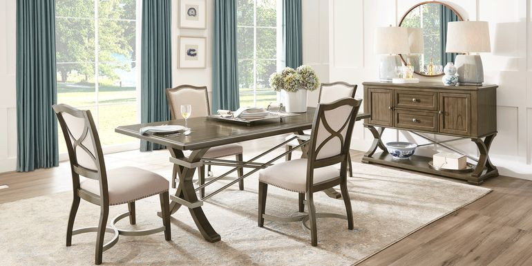 Abbey Court Brown 5 Pc Dining Room