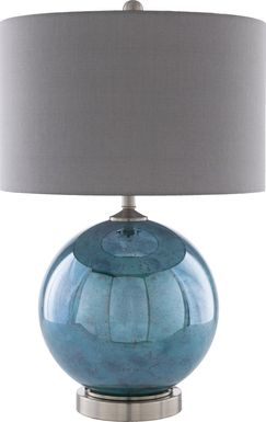 Abbey Cove Emerald Lamp