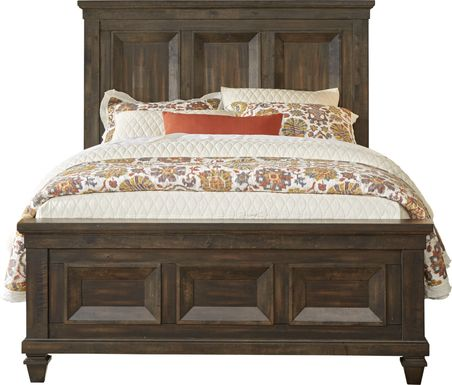 Abbeywood Brown 3 Pc King Panel Bed