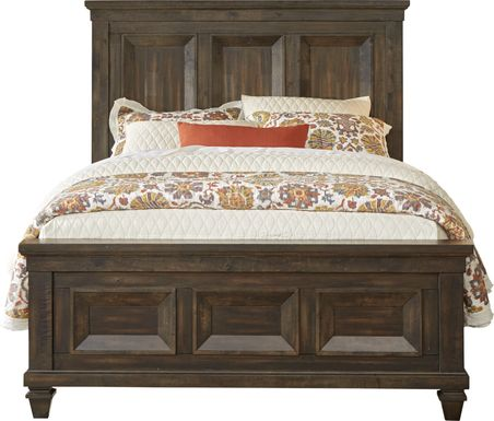 Abbeywood Brown 3 Pc Queen Panel Bed