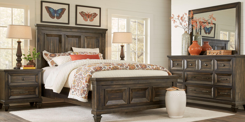 7 Piece Bedroom Furniture Sets King Queen More