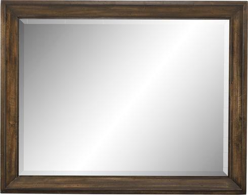 Abbeywood Brown Mirror