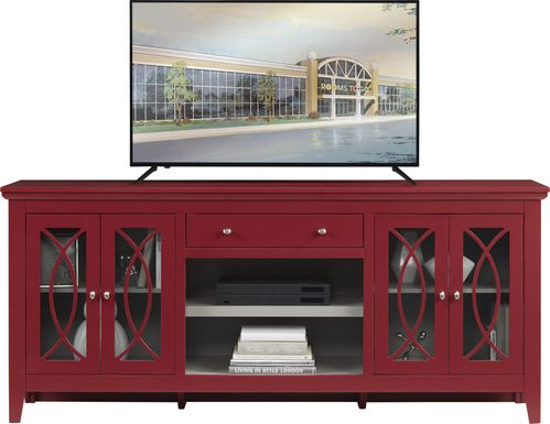Abbie Crimson 80 in. Console