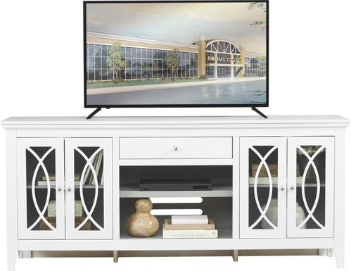 Abbie White 80 in. Console