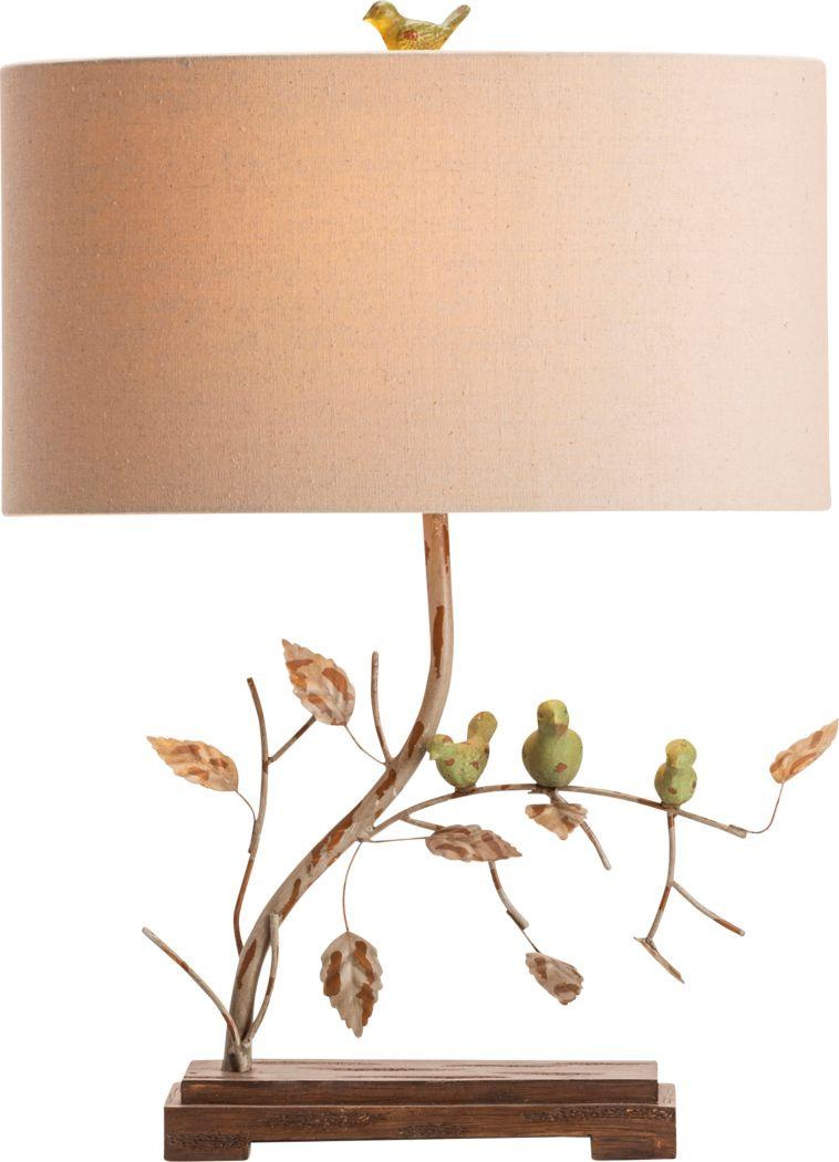 Abbotswell Ivory Lamp