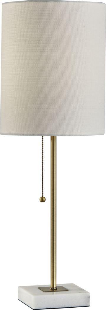Abby Park Brass Lamp