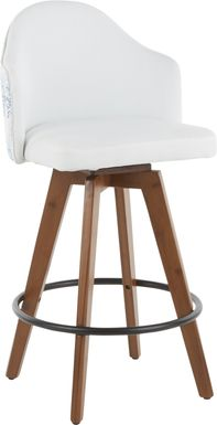 Abinger II Blue Counter Height Stool