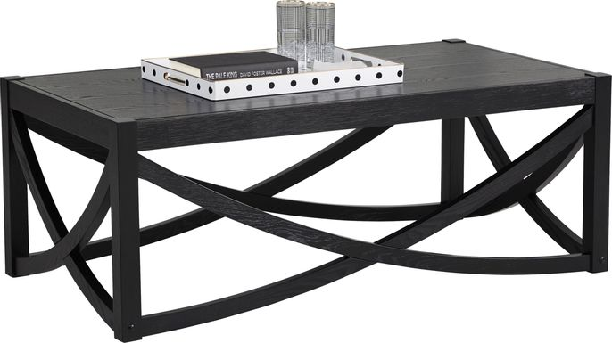 Abner Black Cocktail Table