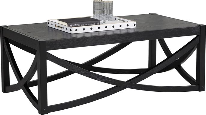 Abner Black Cocktail Table