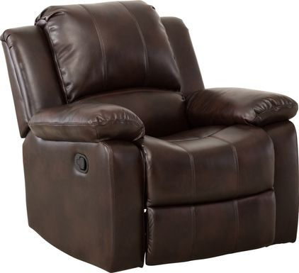 Absecon Brown Glider Recliner