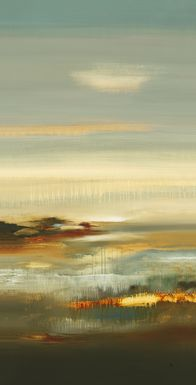 Abstract Sky 7' Long Canvas Artwork