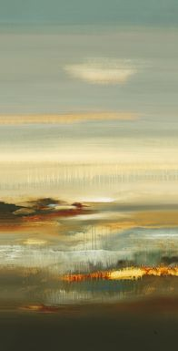 Abstract Sky 7' Long Canvas Artwork