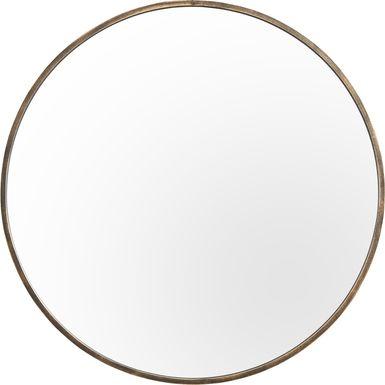 Accolyn Brass Mirror