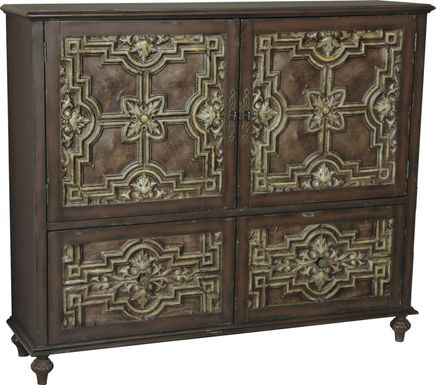 Accomack Brown Credenza