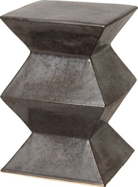 Ackley Gray Outdoor Stool