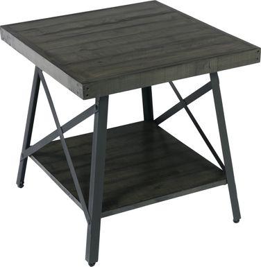 Acoma Gray End Table