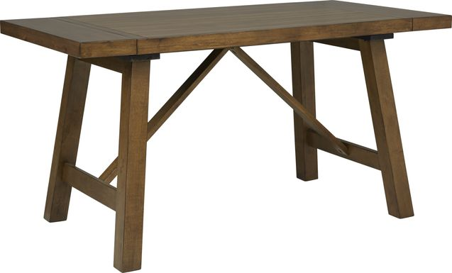Acorn Cottage Brown Counter Height Dining Table