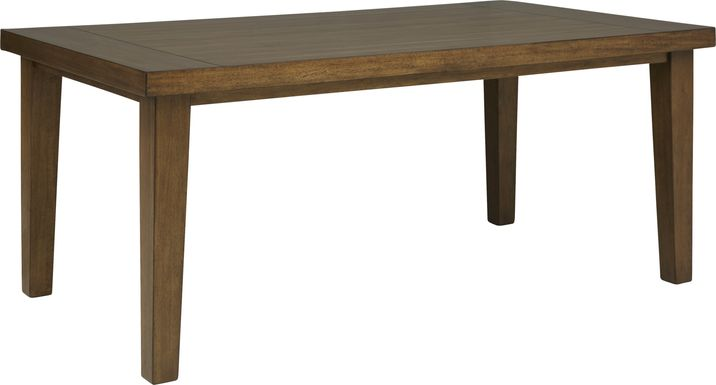 Acorn Cottage Brown Rectangle Dining Table